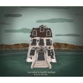 PRENOM et le fantôme de la maison aux volets fermés