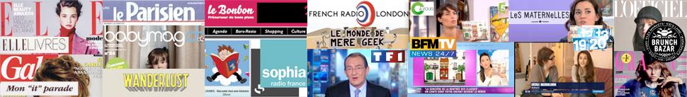 Les contes dans la presse