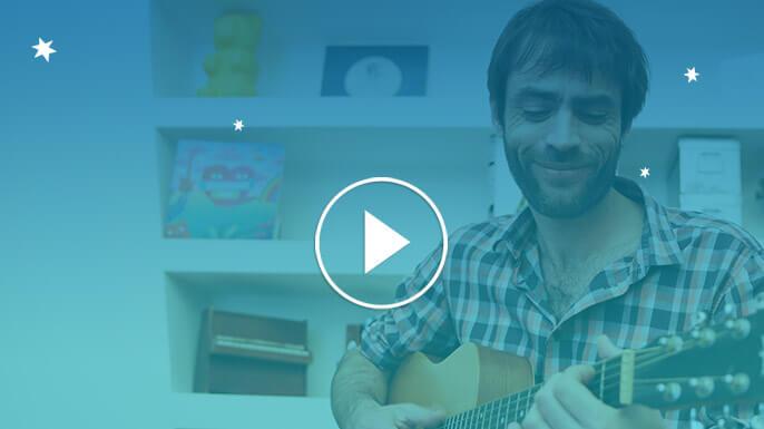 Vidéo du Papa chanteur
